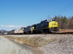 CSX 7357 southbound at Thermal